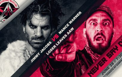 Loser Leaves AAW Match Signed For Never Say Die 2019