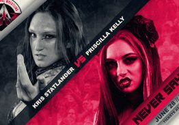Women's Match Signed for Never Say Die 2019