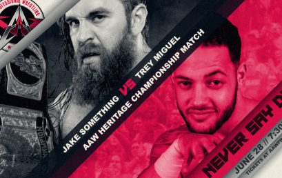 Heritage Championship Match Signed For Never Say Die 2019