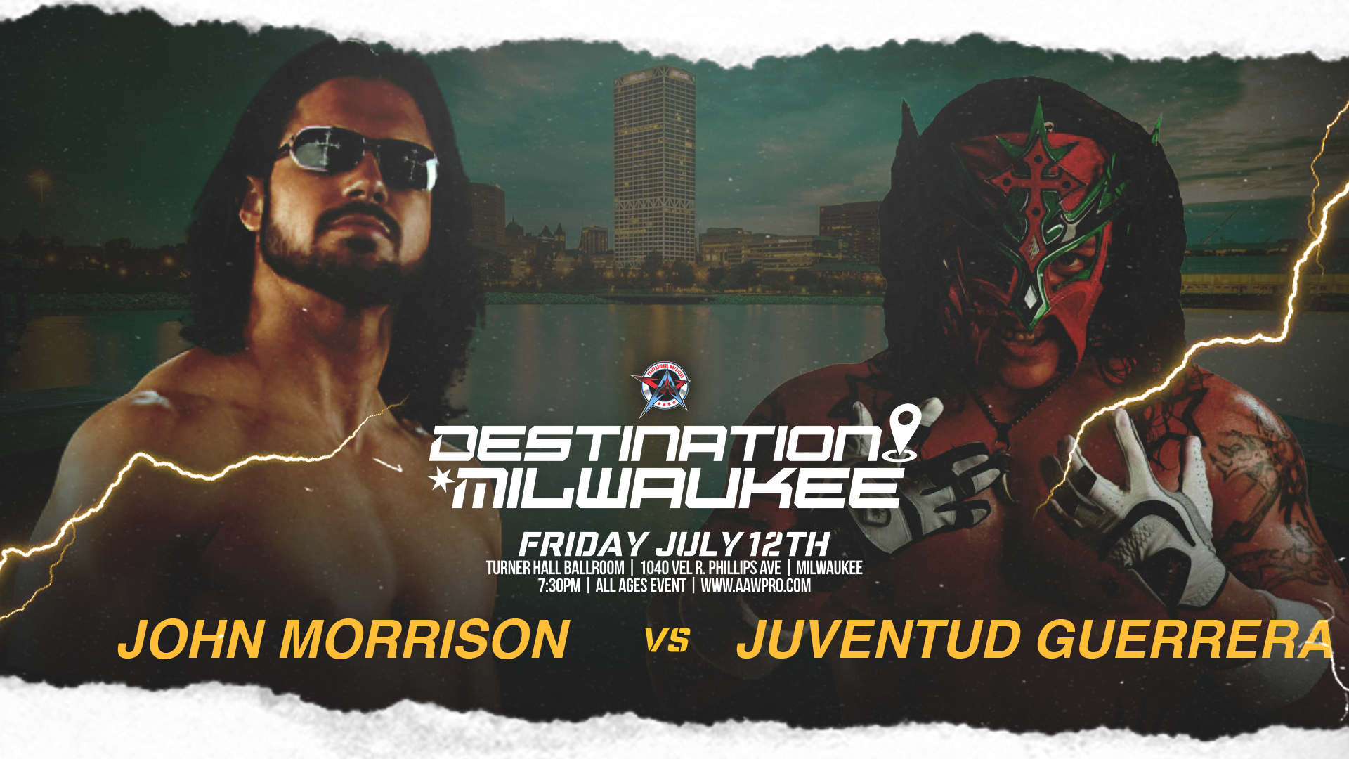 First Match Signed for Destination Milwaukee