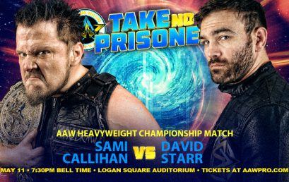 AAW Heavyweight Championship Match Signed for Take No Prisoners