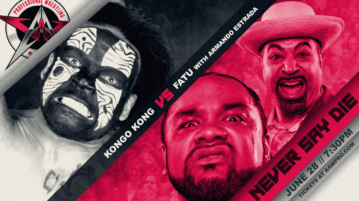 Kongo Kong Returns To Face FATU!