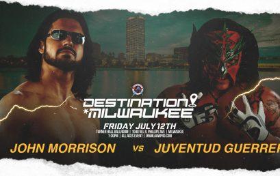 First Match Signed for Destination Milwaukee