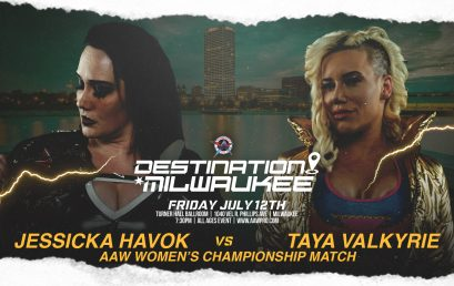 Women's Championship Match Signed for Destination Milwaukee